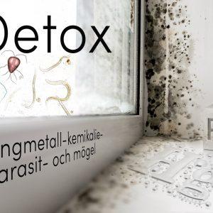 Detox Tungmetaller-Kemikalier-Parasiter-Mögel